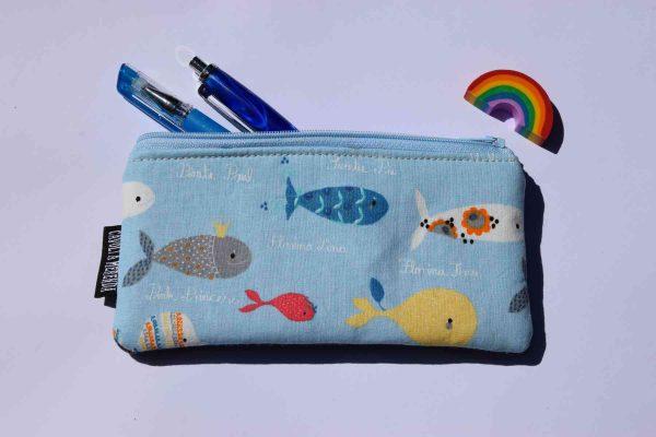 Astucci Mini pesciolini azzurro